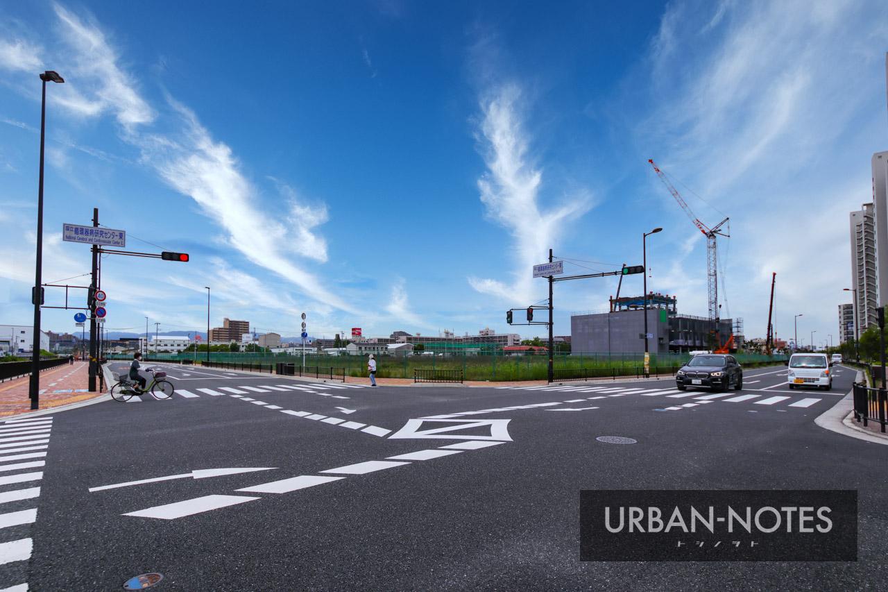 (仮称)ニプロ健都イノベーションパーク施設新築工事 2021年6月 01