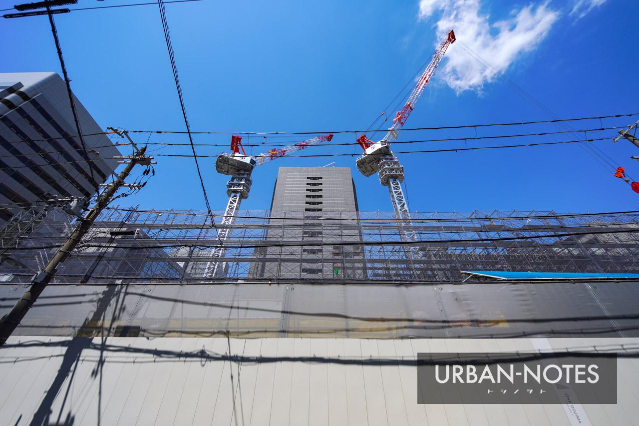 ONE DOJIMA PROJECT ブリリアタワー堂島 & フォーシーズンズホテル 2021年7月 06