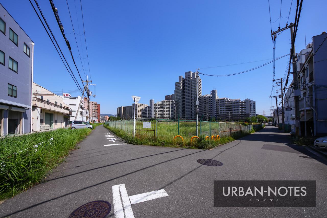 大阪モノレール延伸事業 (仮称)荒本駅 2021年6月 03