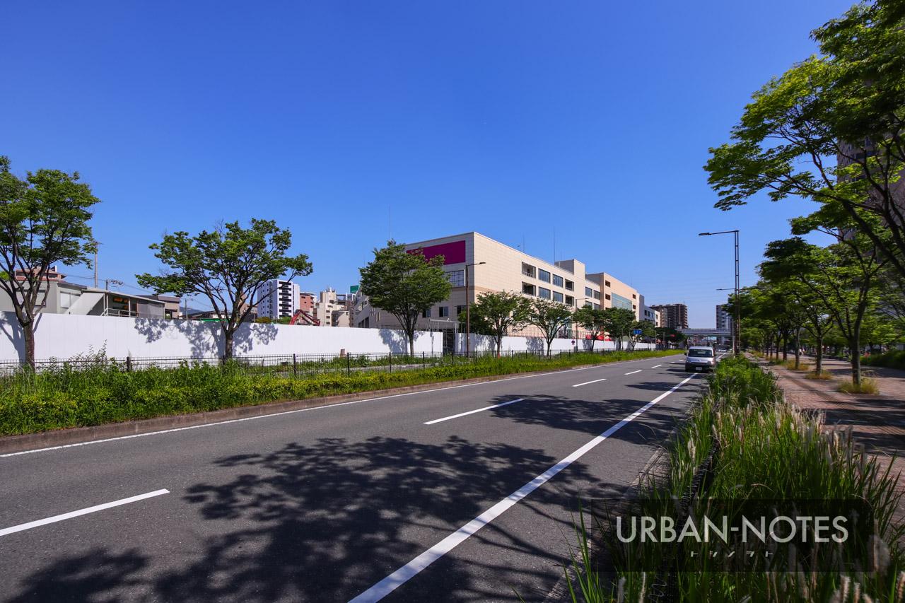 大阪モノレール延伸事業 (仮称)荒本駅 2021年6月 07