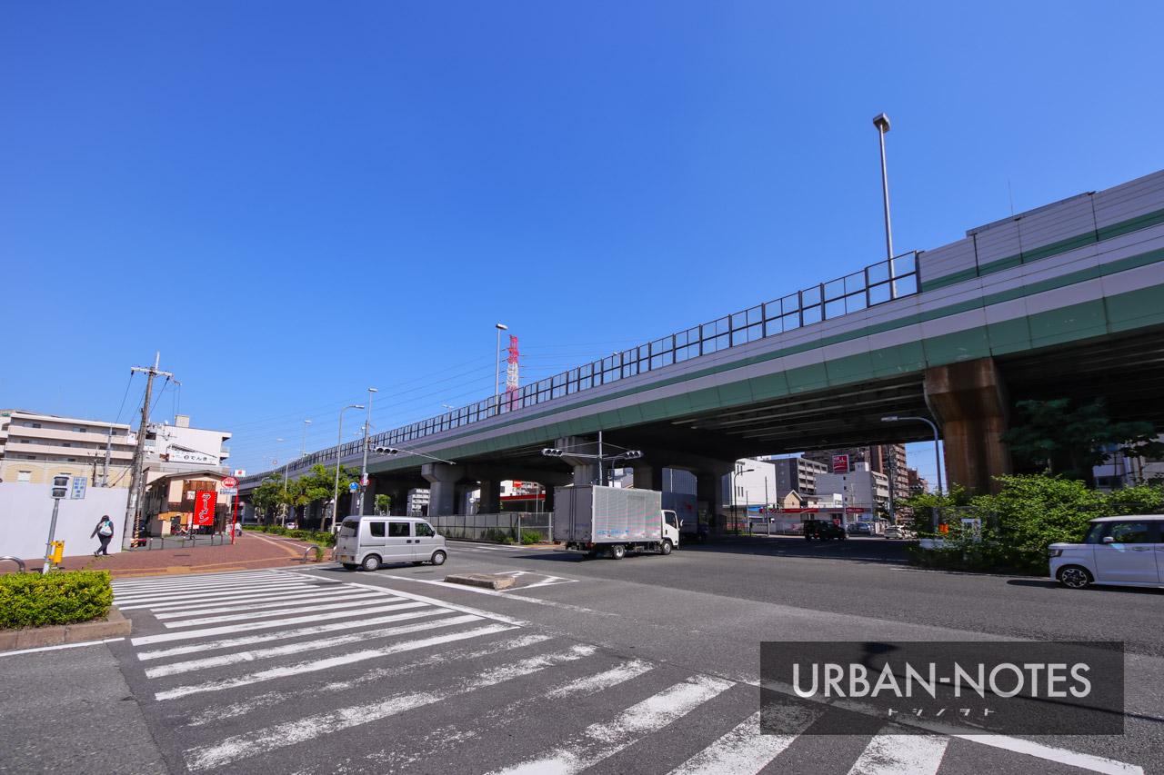 大阪モノレール延伸事業 (仮称)荒本駅 2021年6月 08