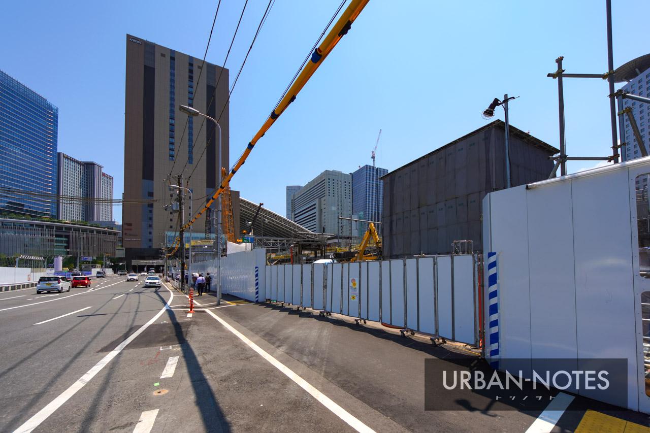 大阪駅西高架エリア開発 新駅ビル 2021年7月 01