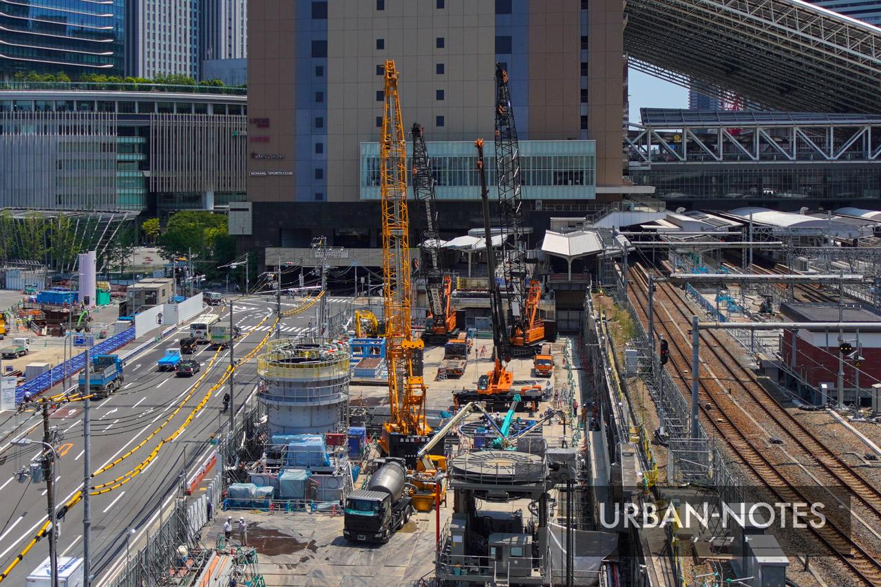 大阪駅西高架エリア開発 新駅ビル 2021年7月 04