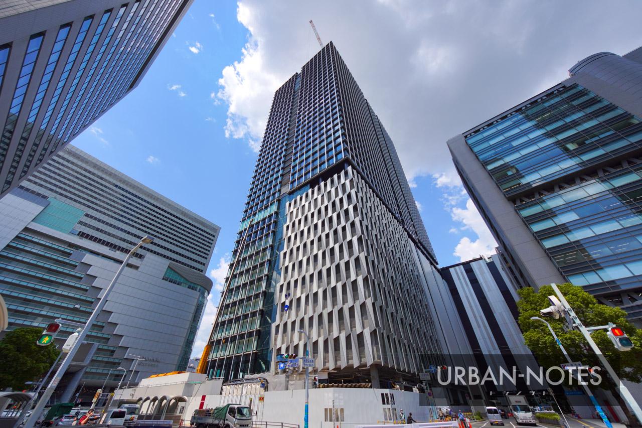 大阪梅田ツインタワーズ・サウス (梅田1丁目1番地計画) 2021年7月 08