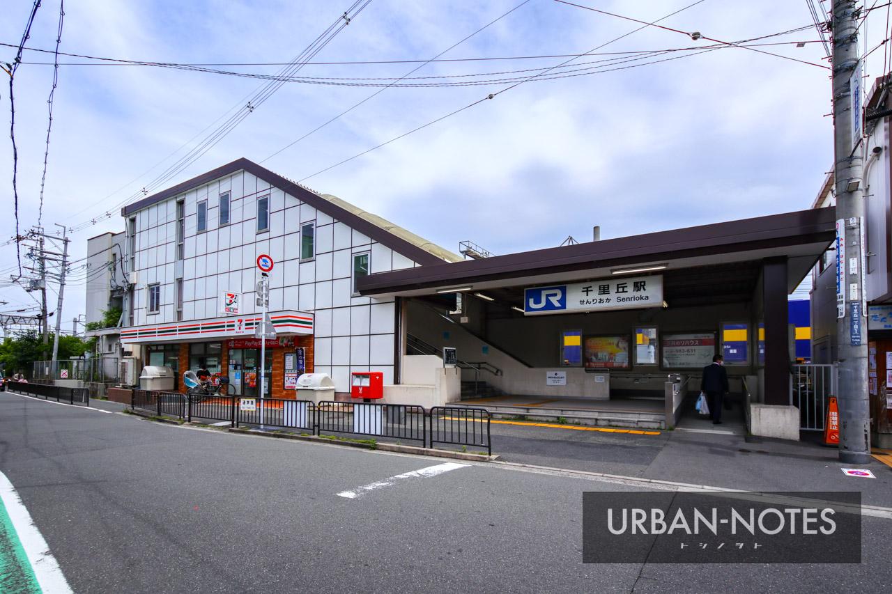 千里丘駅西地区市街地再開発事業 2021年6月 01