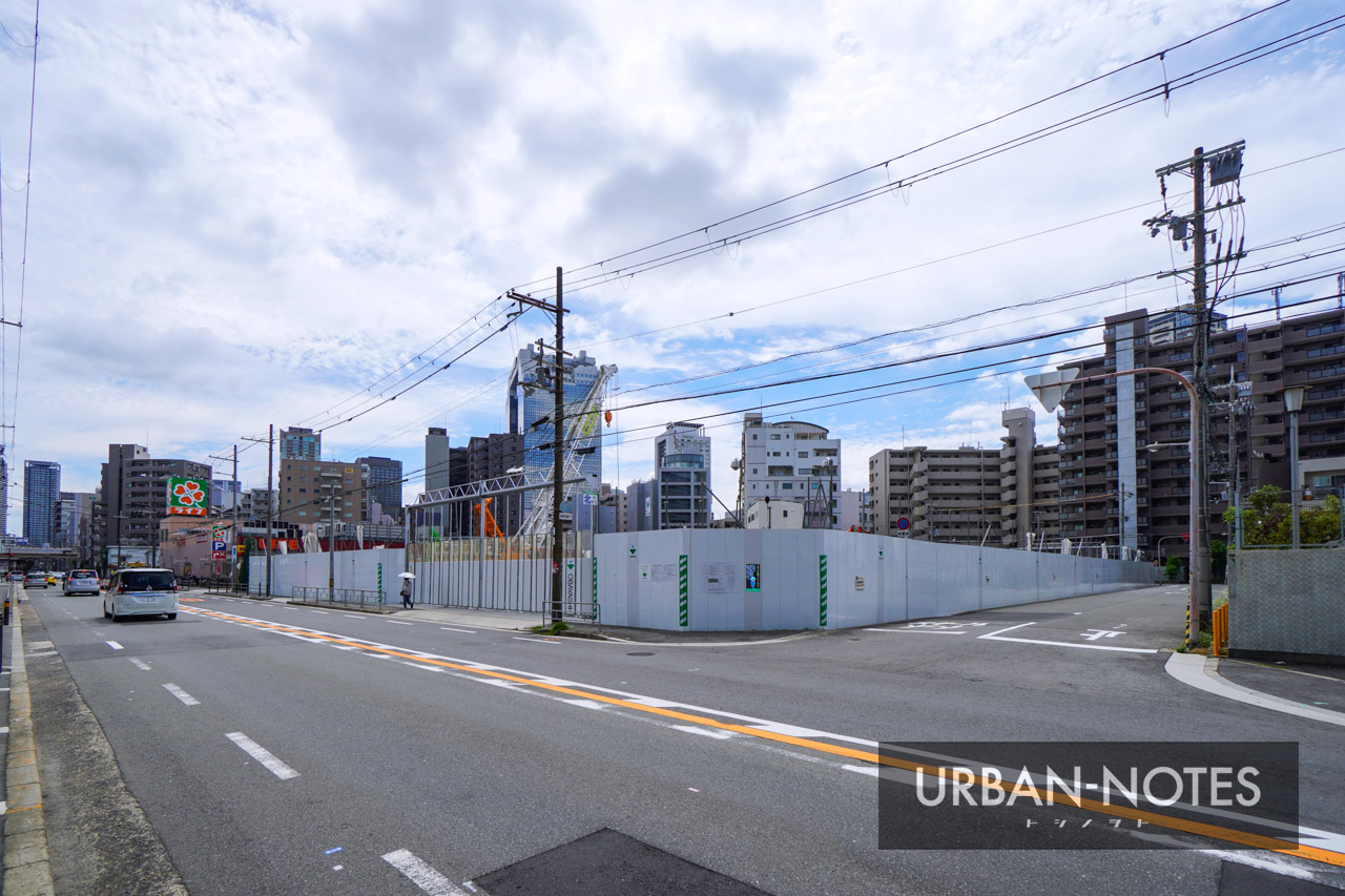 (仮称)SUMA新築工事 (トーハン旧大阪支店跡地) 2021年6月 01