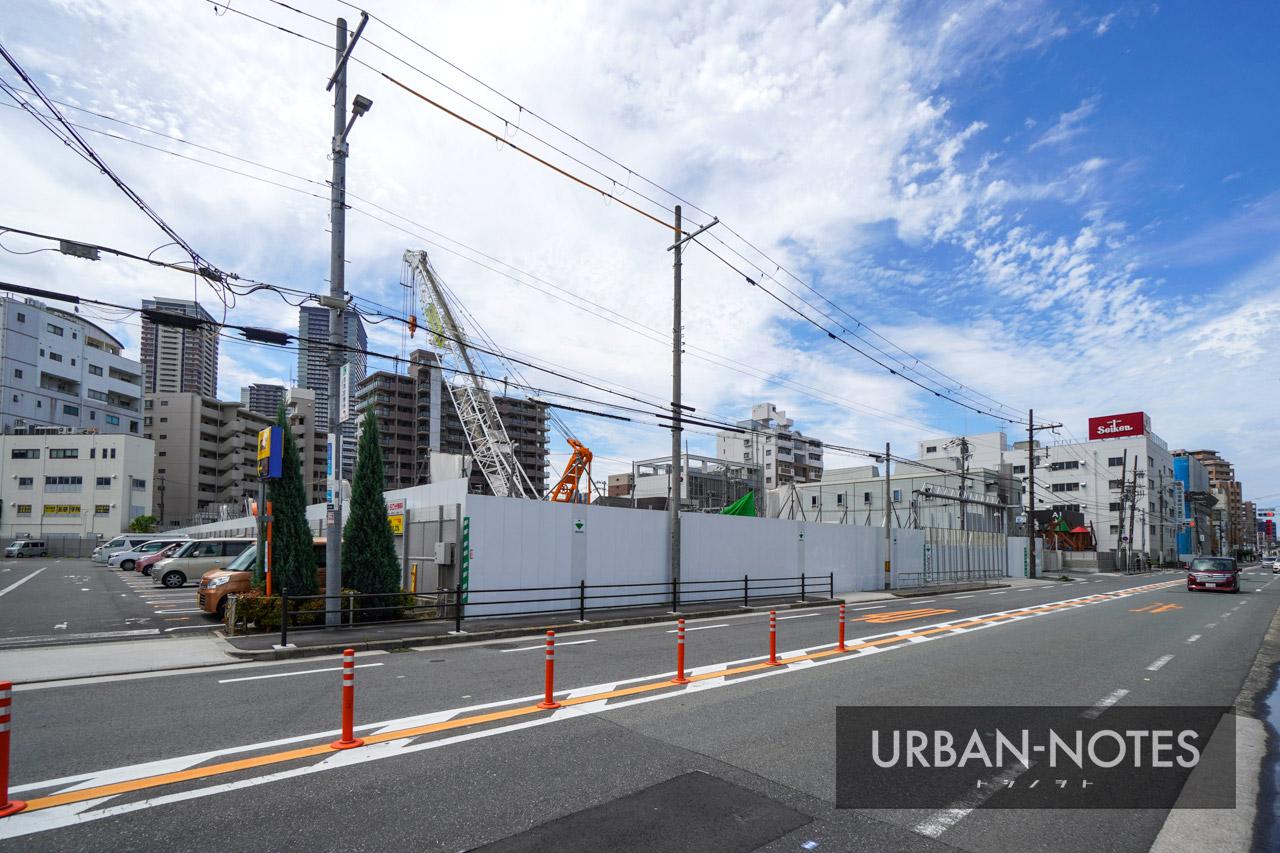 (仮称)SUMA新築工事 (トーハン旧大阪支店跡地) 2021年6月 02