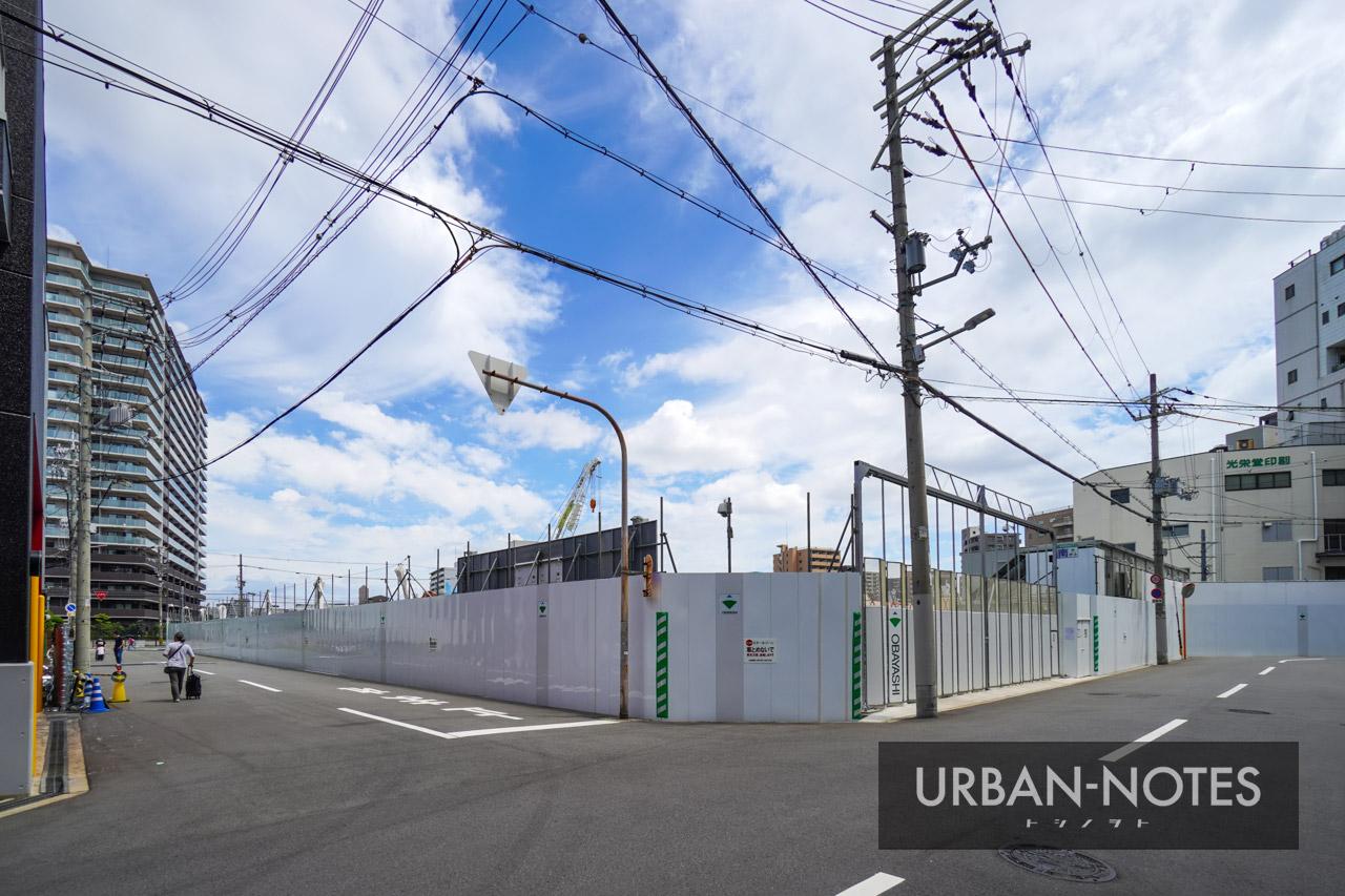 (仮称)SUMA新築工事 (トーハン旧大阪支店跡地) 2021年6月 03