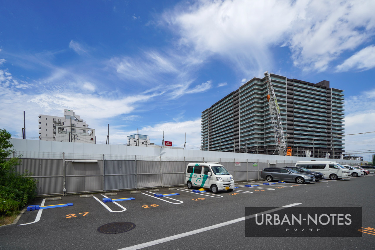 (仮称)SUMA新築工事 (トーハン旧大阪支店跡地) 2021年6月 05