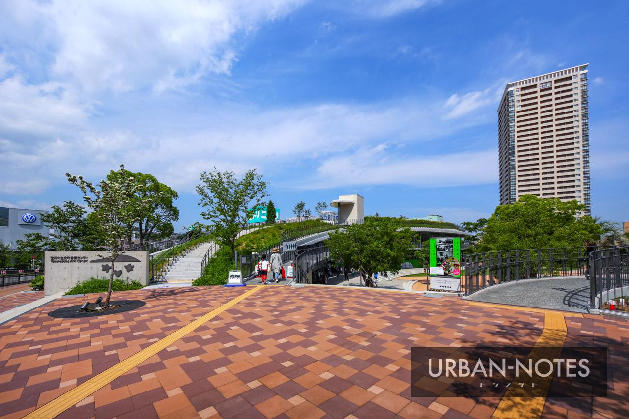 宝塚市立文化芸術センター (宝塚ガーデンフィールズ跡地) 2021年6月 06