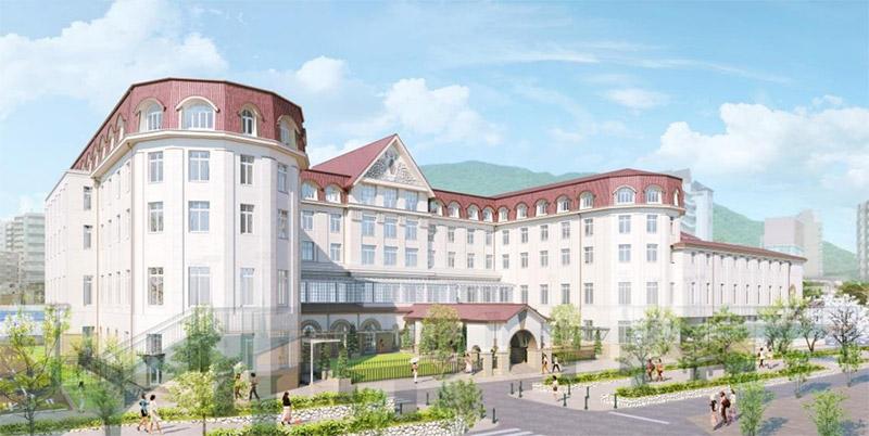 宝塚ホテル 完成イメージ図
