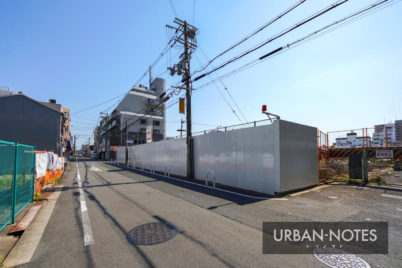 (仮称)東横イン東大阪新築工事 2021年6月 02