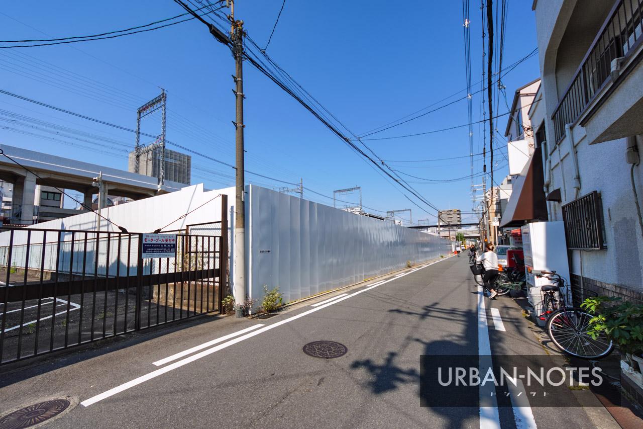 (仮称)東横イン東大阪新築工事 2021年6月 05