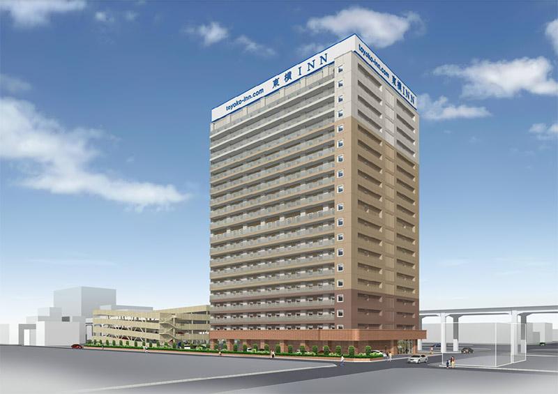 (仮称)東横イン東大阪新築工事 完成イメージ図