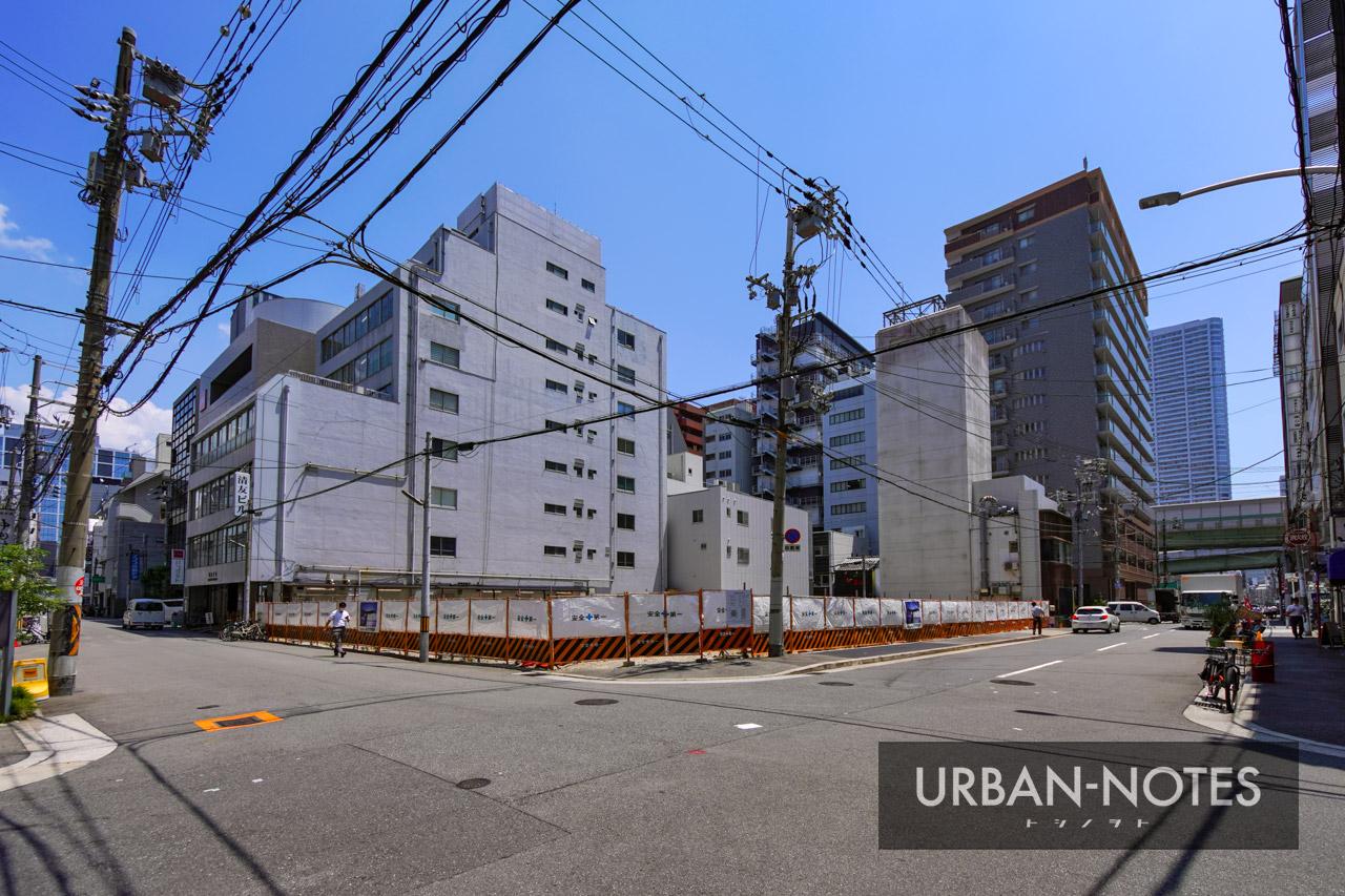(仮称)大阪市西区西本町計画 新築工事 2021年8月 01