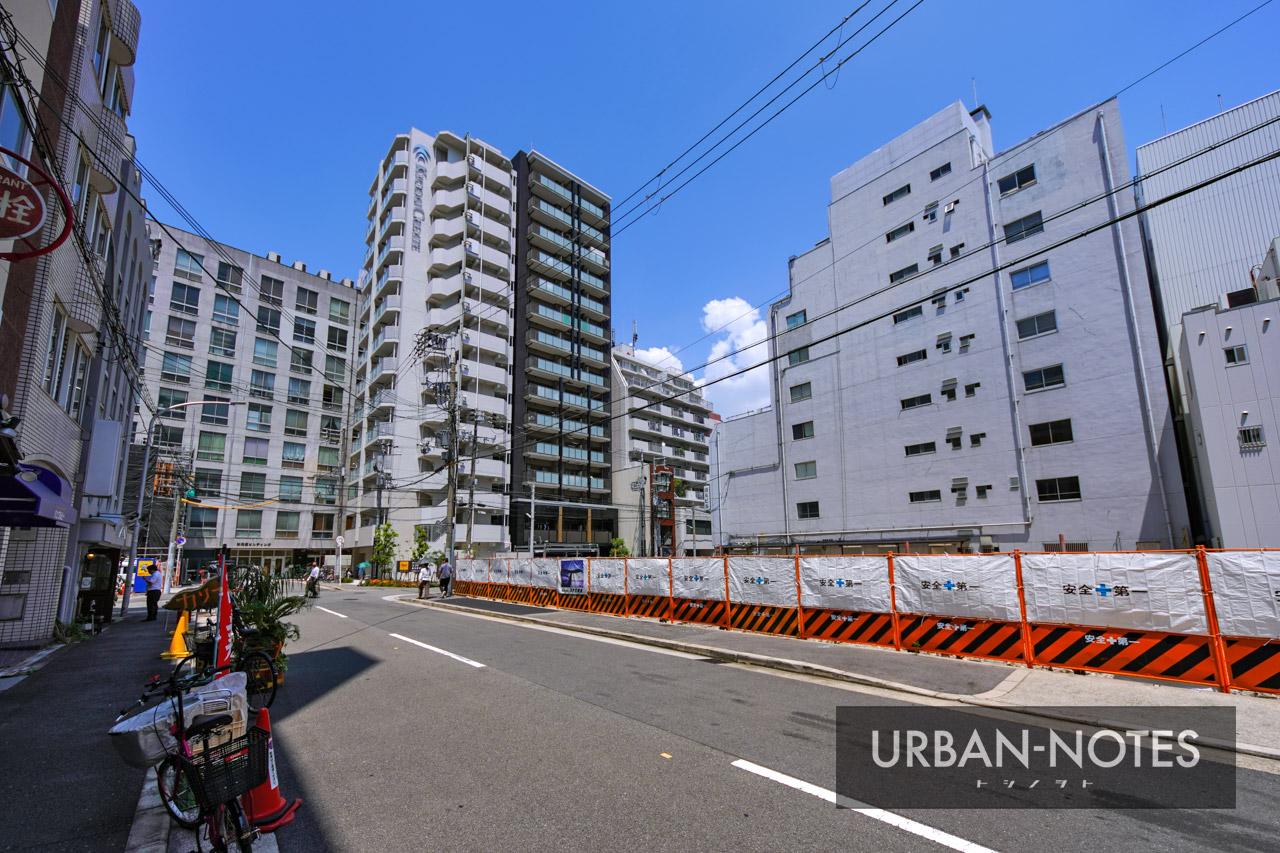(仮称)大阪市西区西本町計画 新築工事 2021年8月 02