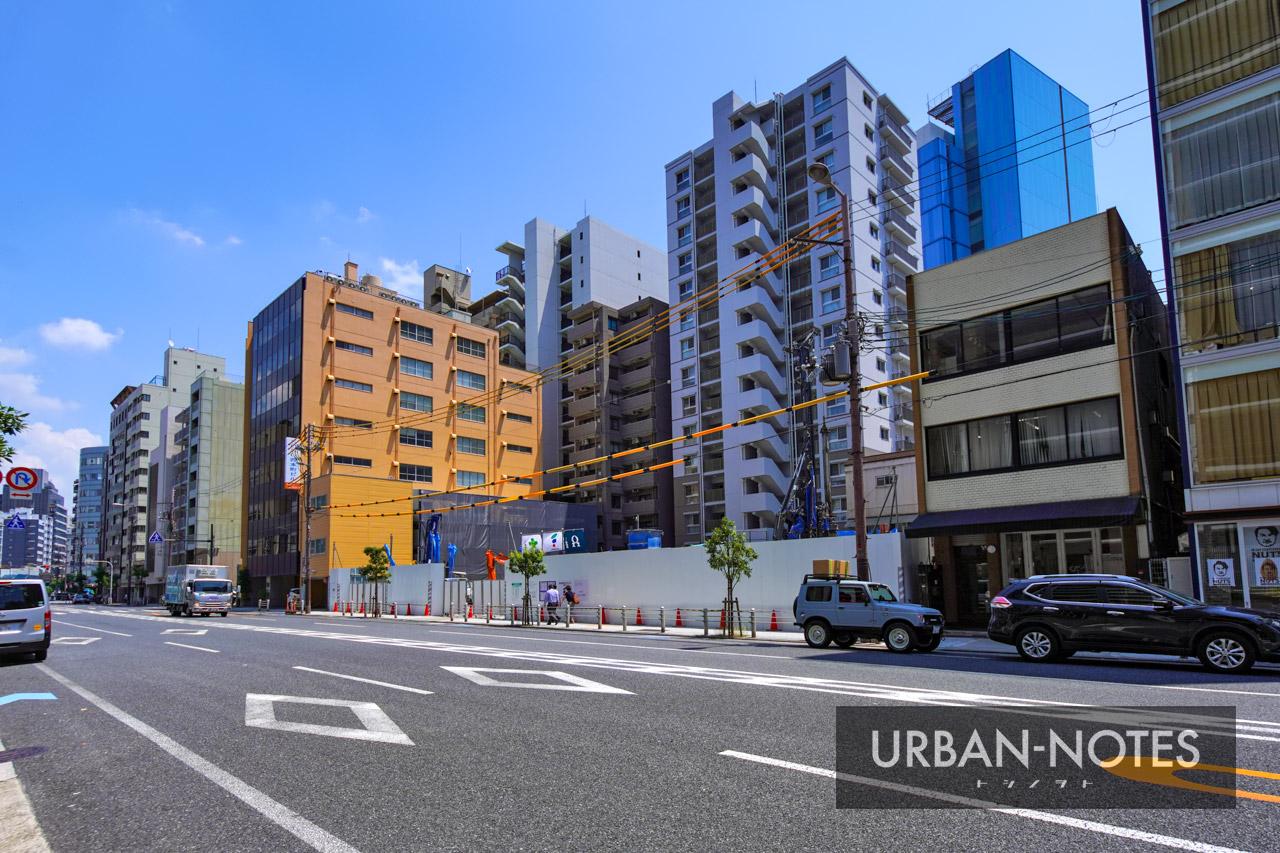 (仮称)西区本町2丁目プロジェクト 新築工事 2021年8月 01