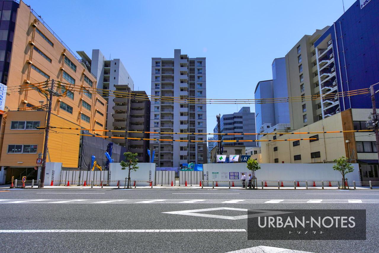 (仮称)西区本町2丁目プロジェクト 新築工事 2021年8月 02
