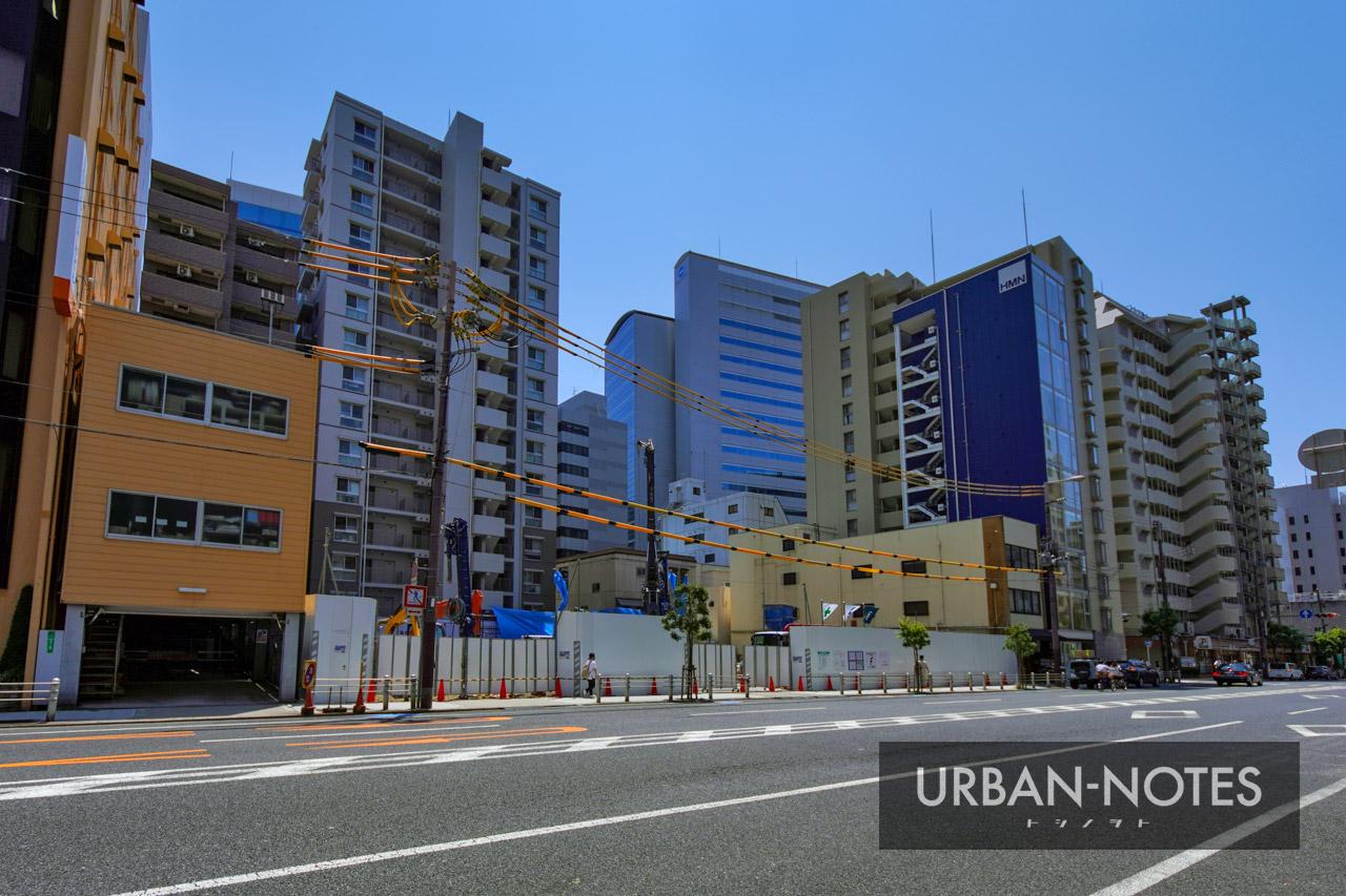(仮称)西区本町2丁目プロジェクト 新築工事 2021年8月 03