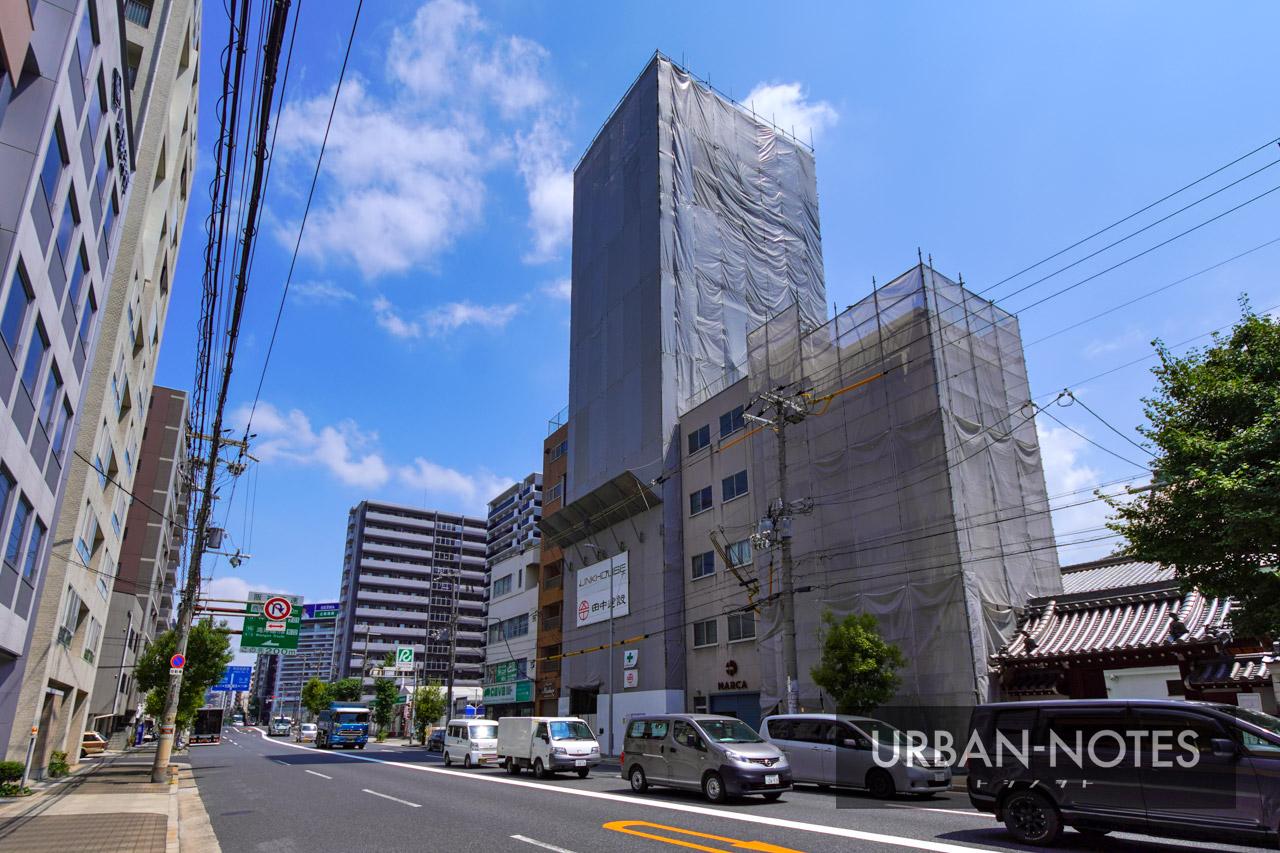 (仮称)リンクハウス北堀江3丁目 新築工事 2021年8月 01