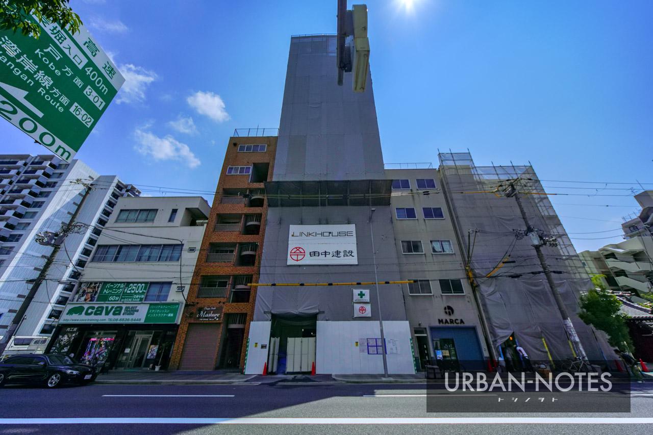 (仮称)リンクハウス北堀江3丁目 新築工事 2021年8月 02