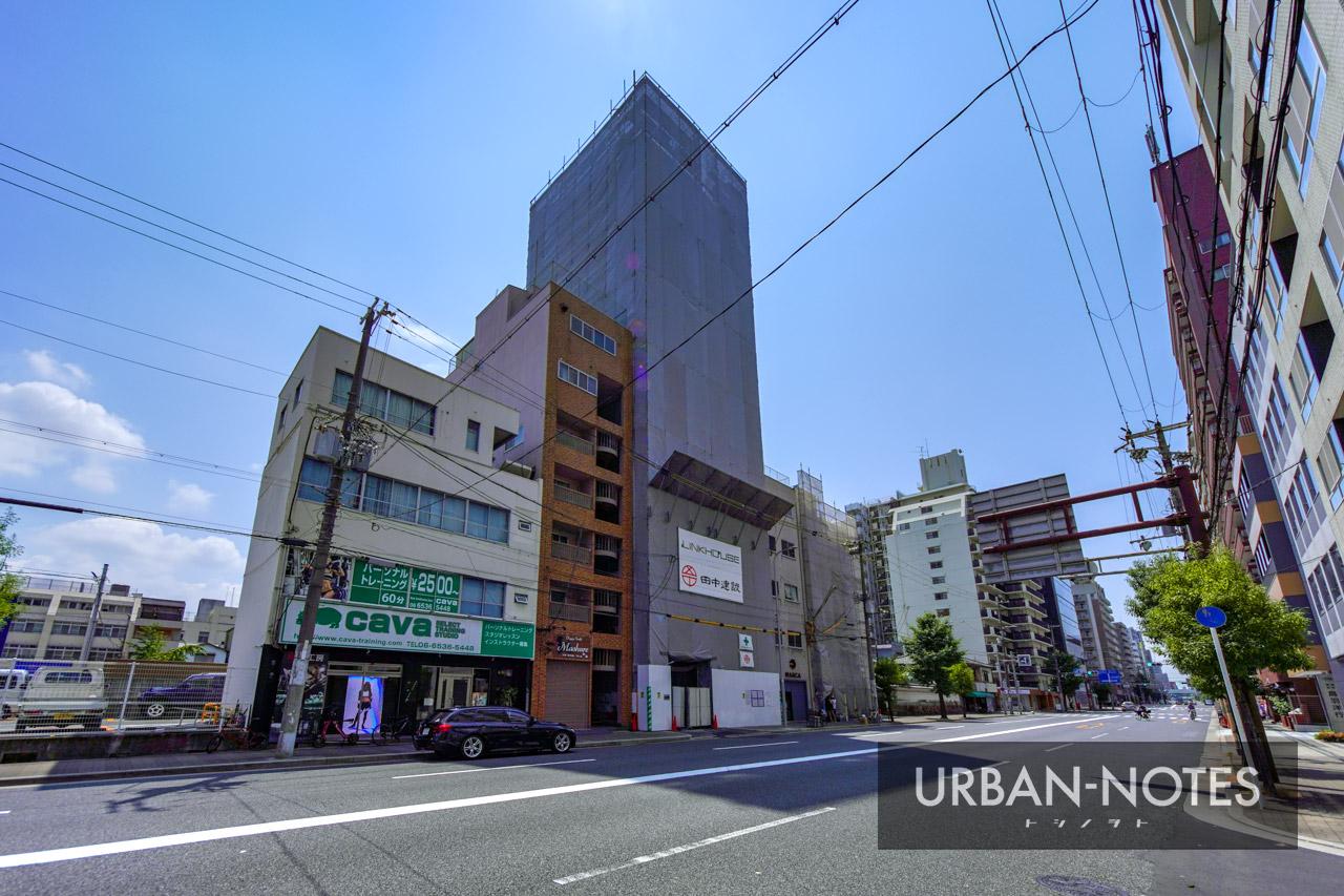 (仮称)リンクハウス北堀江3丁目 新築工事 2021年8月 03
