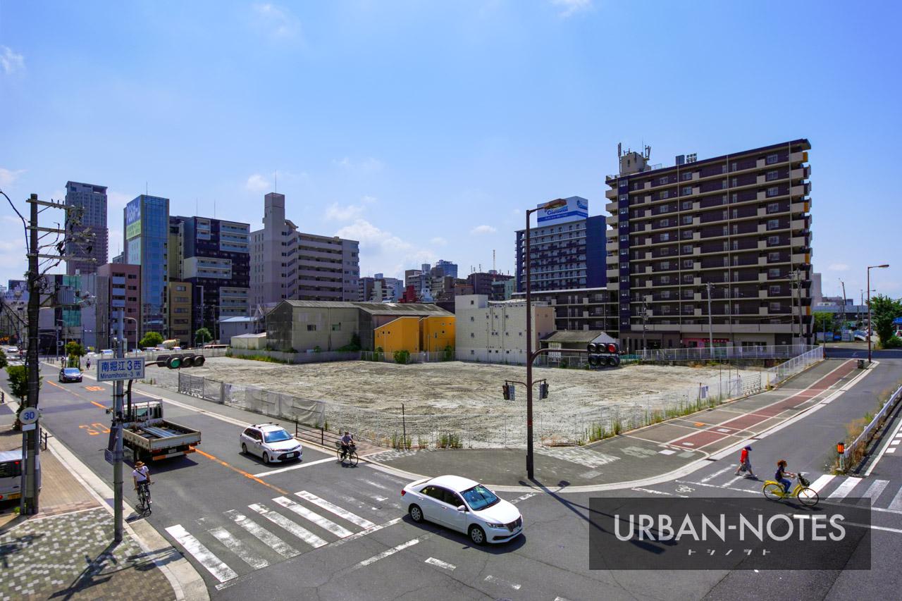 (仮称)南堀江3丁目プロジェクト 2021年8月 05
