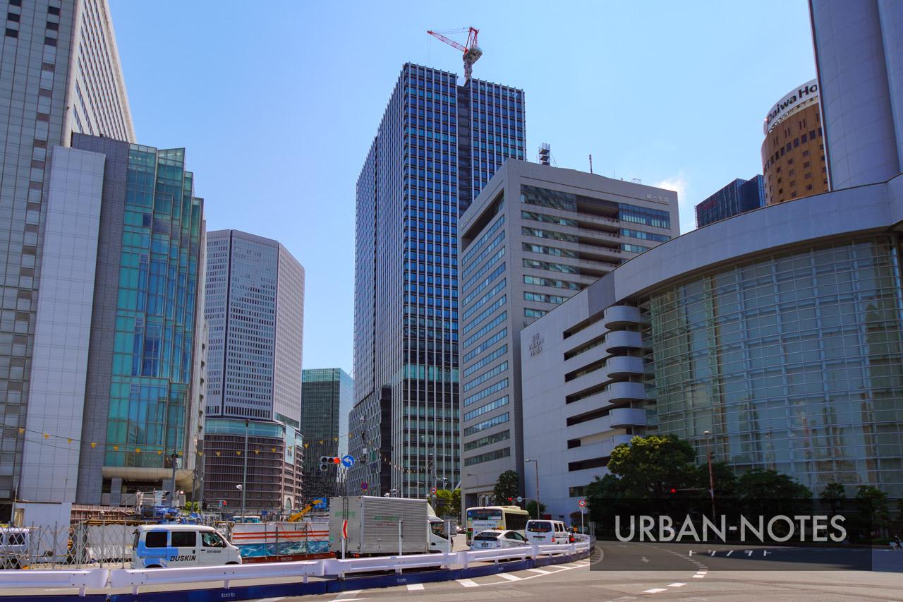 大阪梅田ツインタワーズ・サウス (梅田1丁目1番地計画) 2021年7月 10