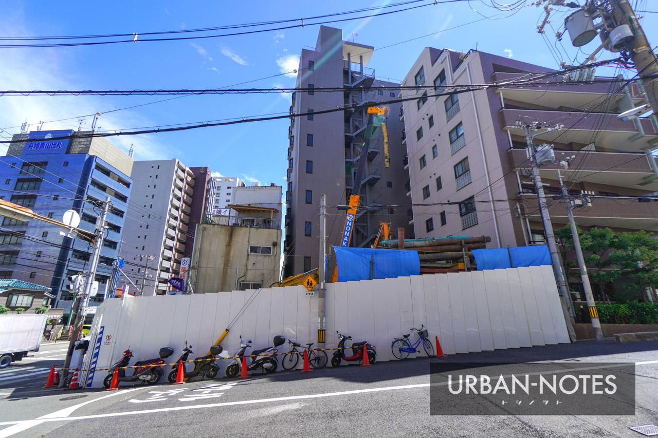 (仮称)セイワパレス真田山公園南新築工事 2021年8月 03