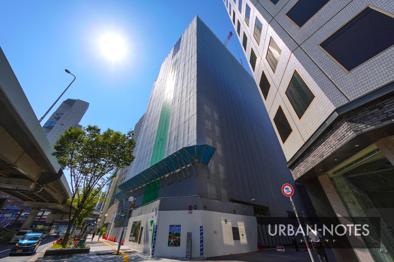 新曽根崎ビル(仮称) 曽根崎データセンター 2021年7月 02