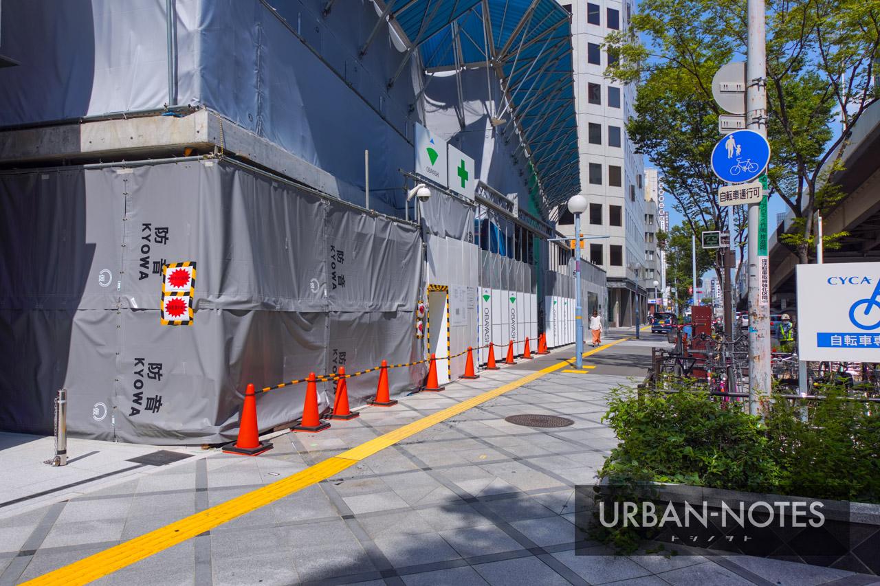 新曽根崎ビル(仮称) 曽根崎データセンター 2021年7月 03
