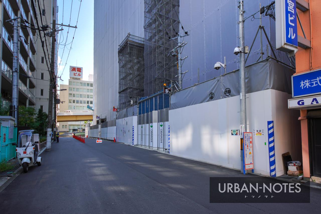 新曽根崎ビル(仮称) 曽根崎データセンター 2021年7月 04
