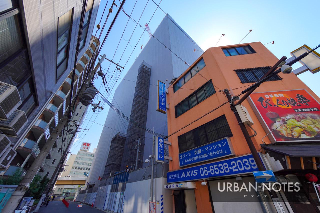 新曽根崎ビル(仮称) 曽根崎データセンター 2021年7月 05