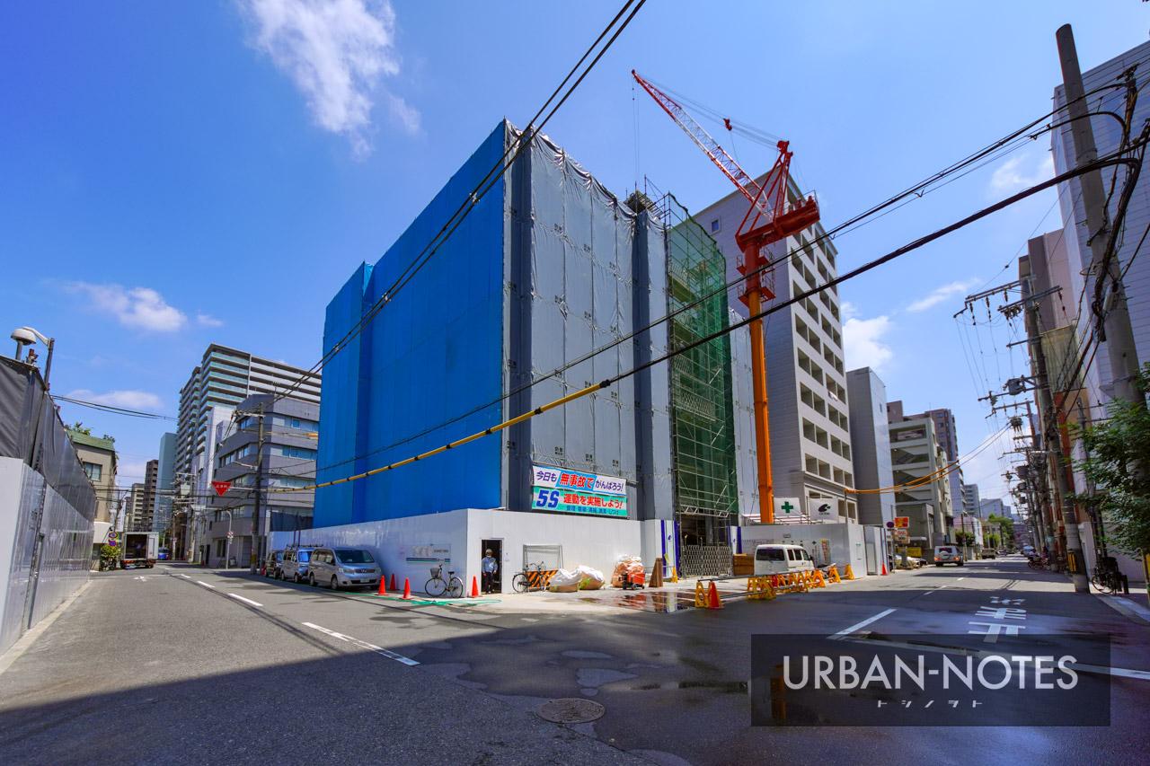(仮称)大阪市西区新町3丁目東敷地計画 2021年8月 01