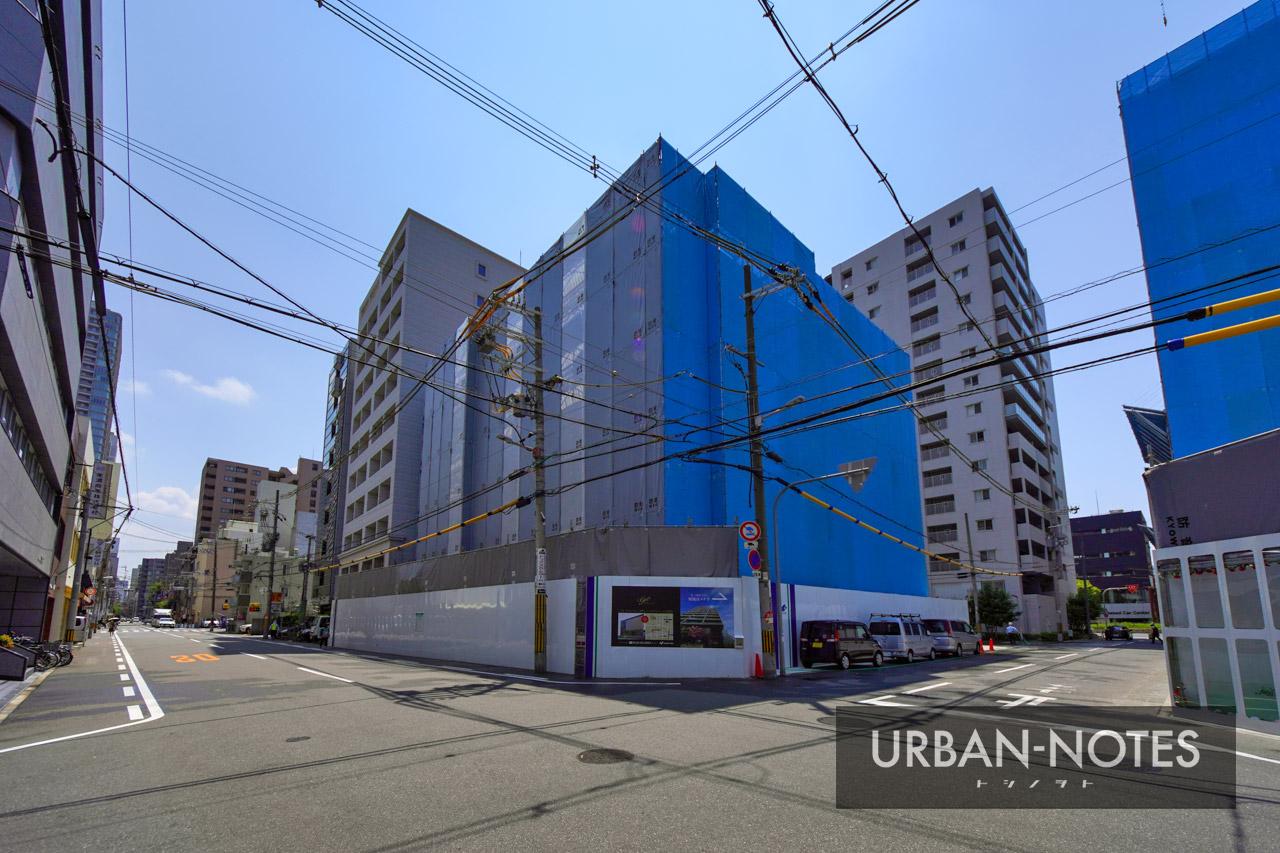 (仮称)大阪市西区新町3丁目東敷地計画 2021年8月 02