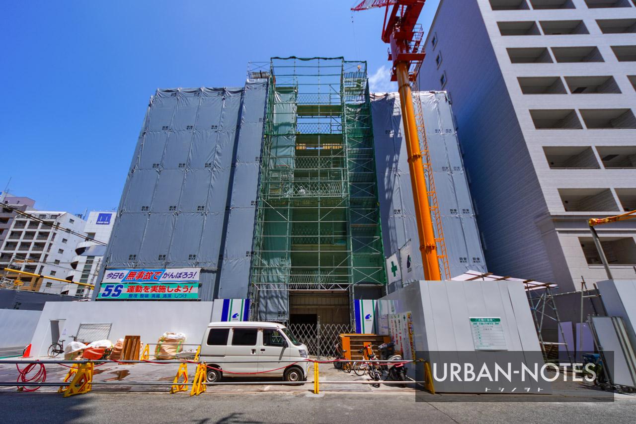 (仮称)大阪市西区新町3丁目東敷地計画 2021年8月 04