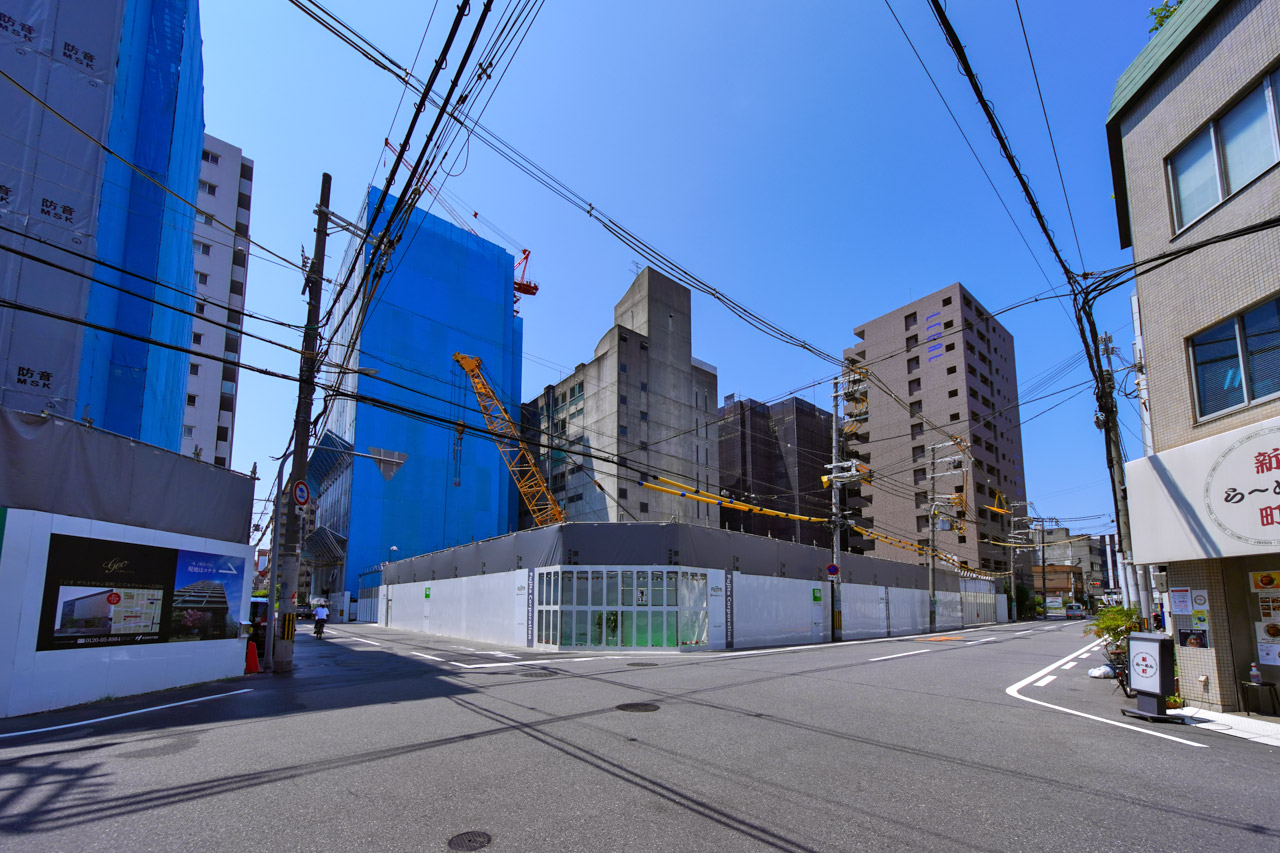 (仮称)大阪市西区新町3丁目西敷地タワー計画 2021年8月 01