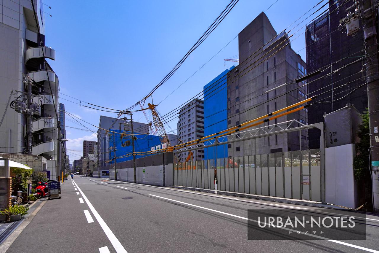 (仮称)大阪市西区新町3丁目西敷地タワー計画 2021年8月 03