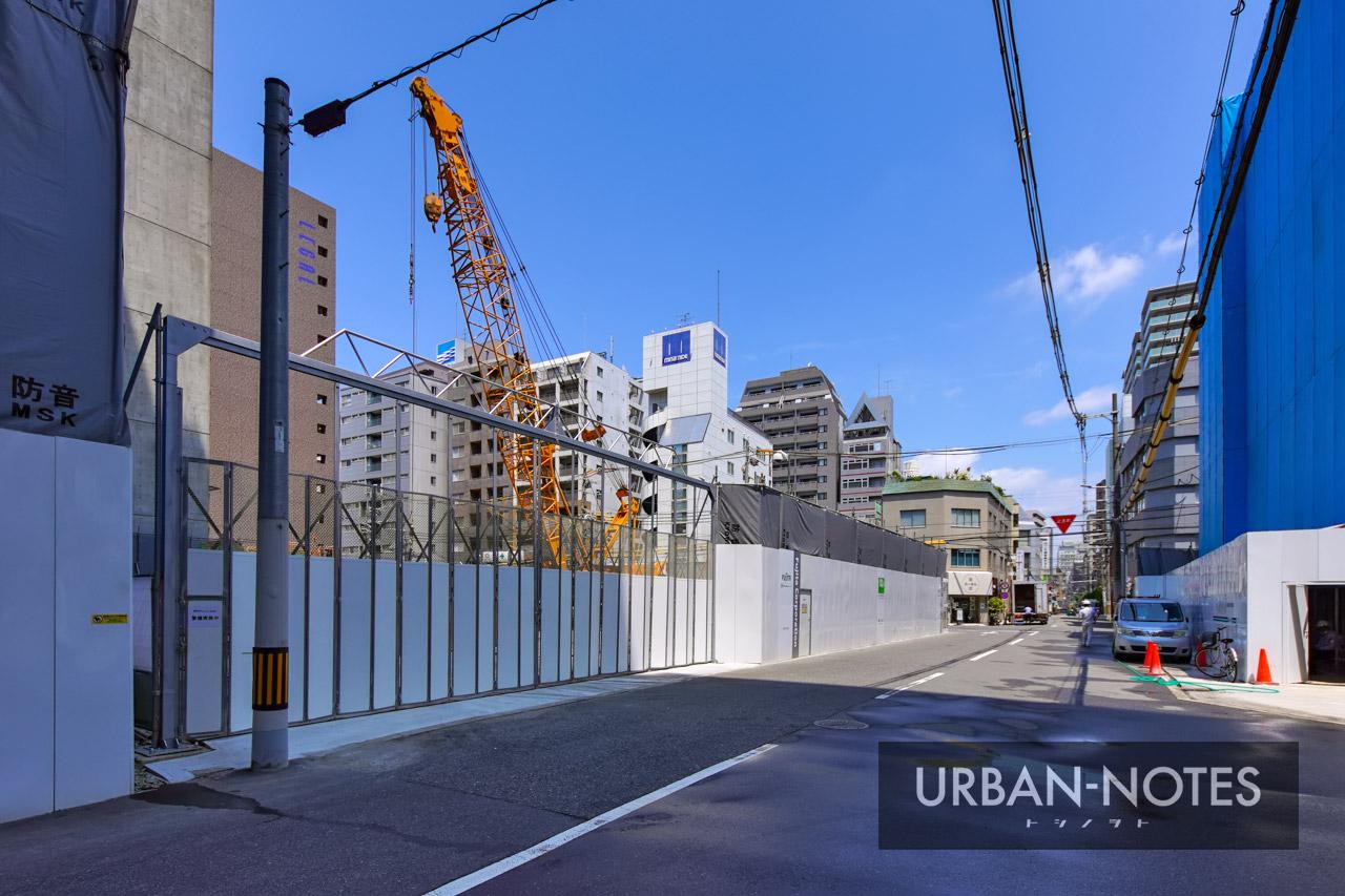 (仮称)大阪市西区新町3丁目西敷地タワー計画 2021年8月 04