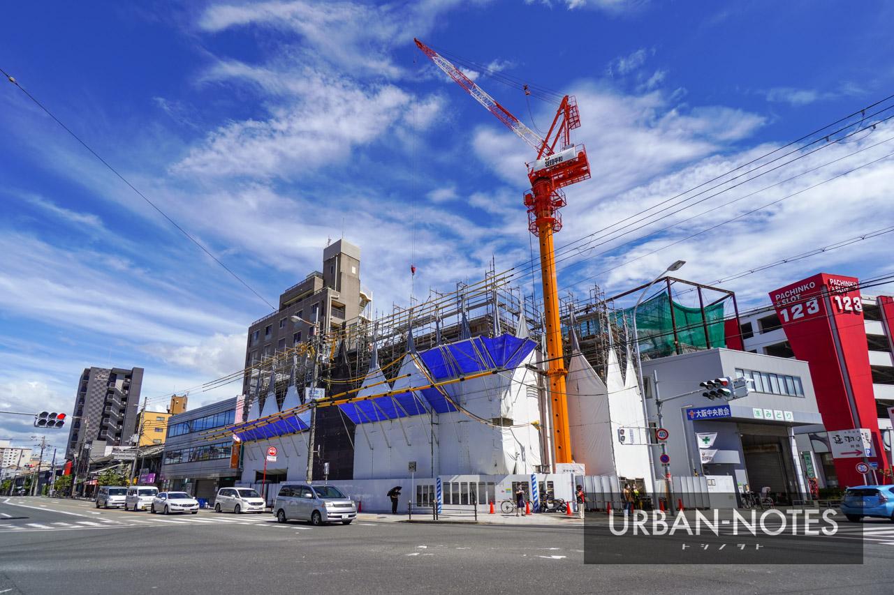 (仮称)東成区玉津3丁目計画 新築工事 2021年8月 01