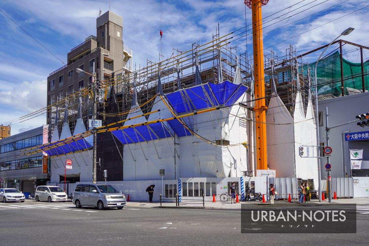 (仮称)東成区玉津3丁目計画 新築工事 2021年8月 02