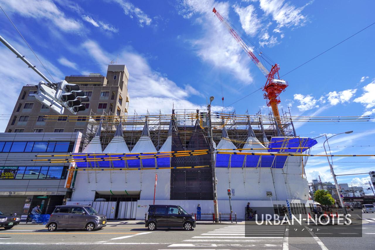 (仮称)東成区玉津3丁目計画 新築工事 2021年8月 03