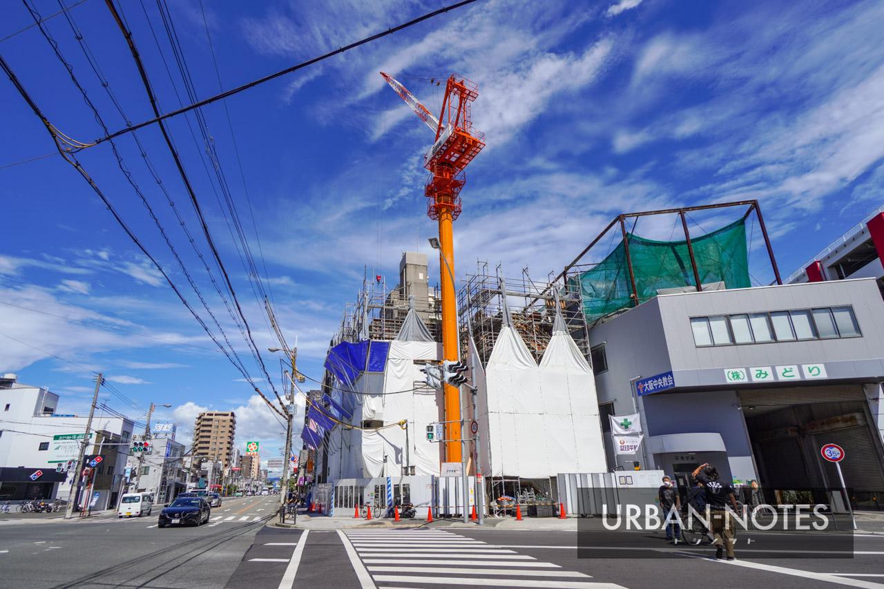 (仮称)東成区玉津3丁目計画 新築工事 2021年8月 04