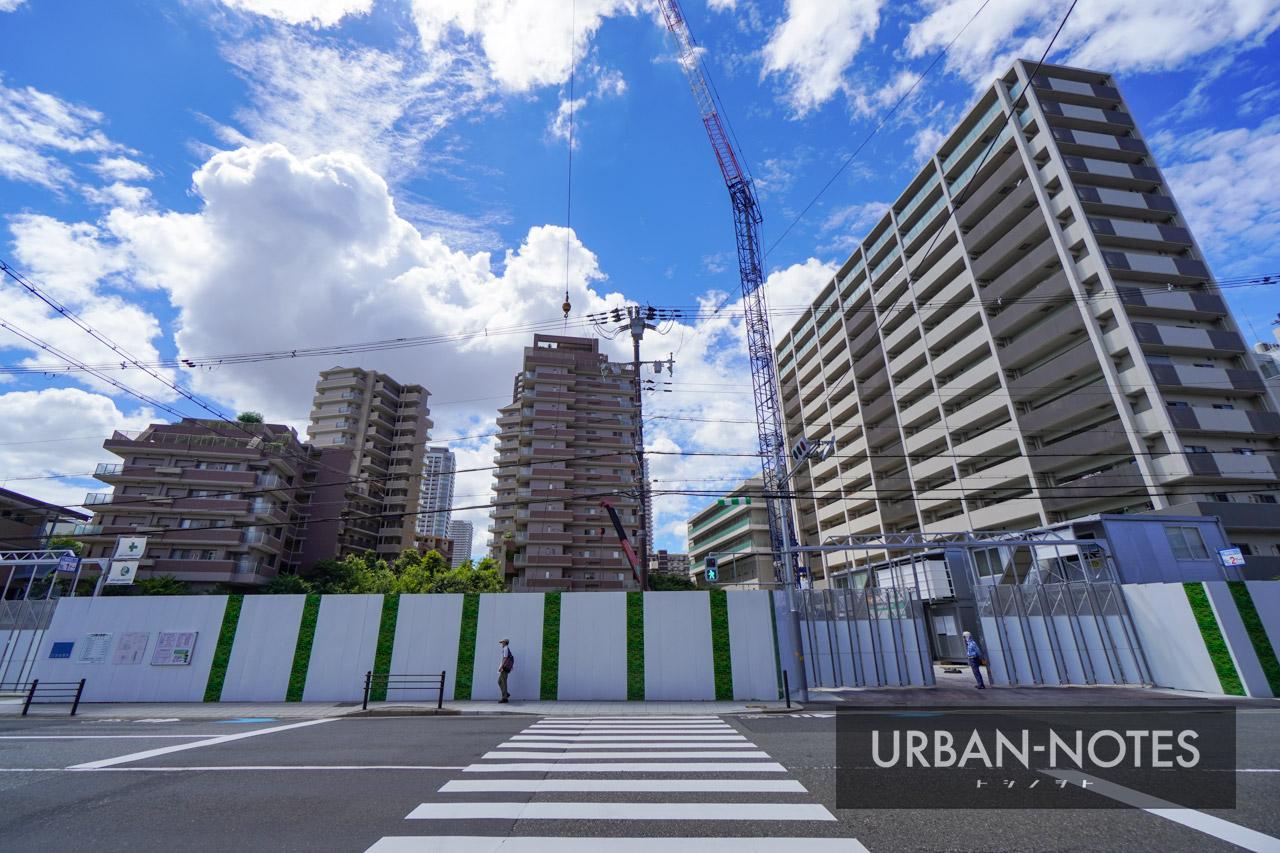 (仮称)上町台筆ケ崎プロジェクト 2021年8月 02