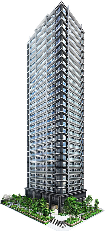 シエリア大阪上町台パークタワー 完成イメージ図 02