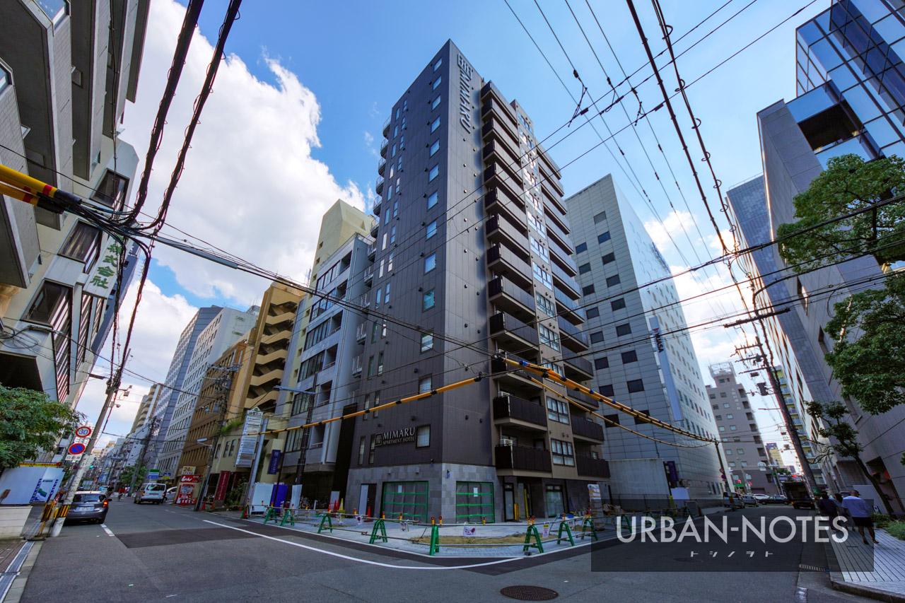ホテルMIMARU (仮称)南船場2丁目 新築工事 2021年10月 01