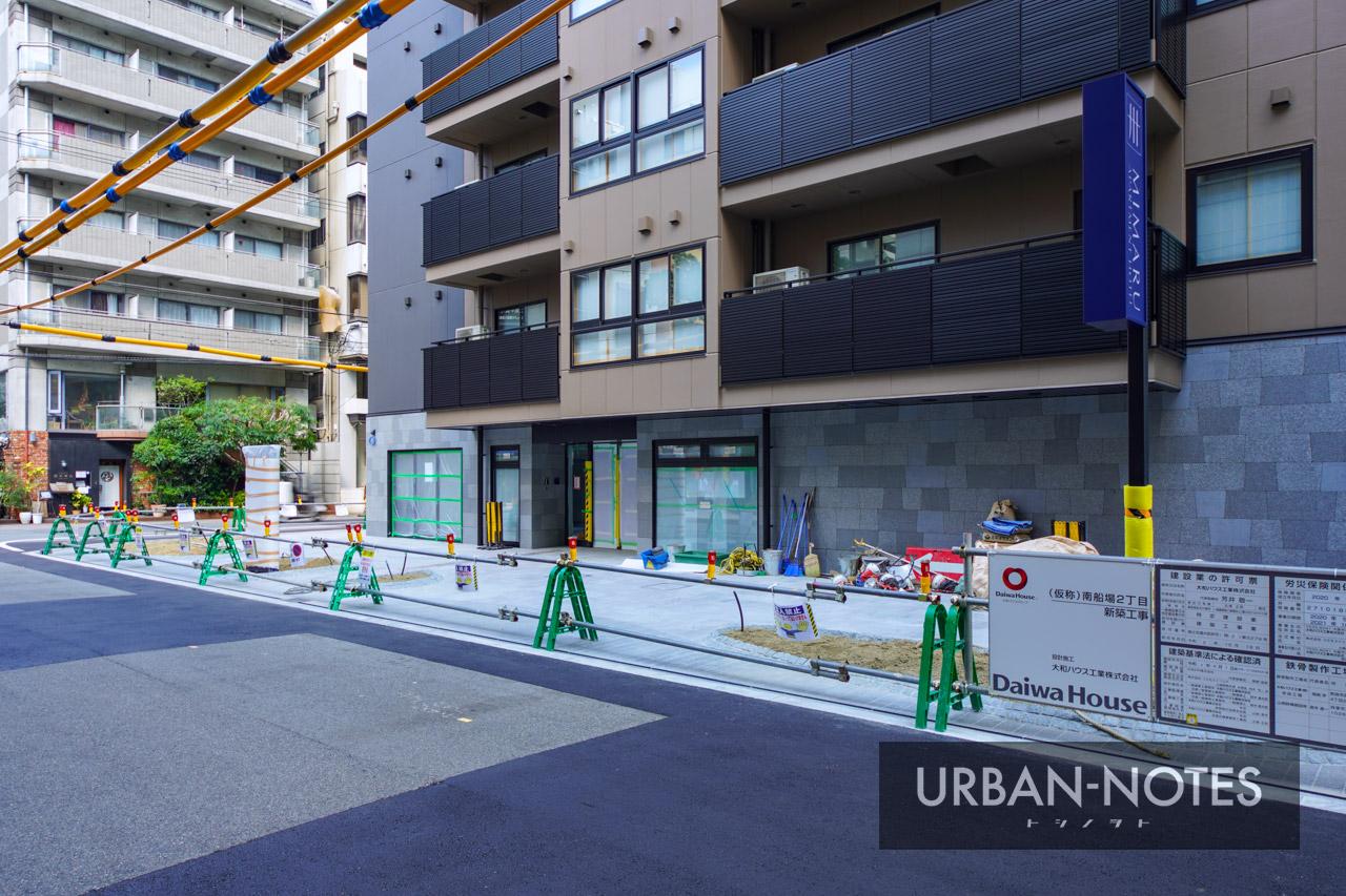 ホテルMIMARU (仮称)南船場2丁目 新築工事 2021年10月 04