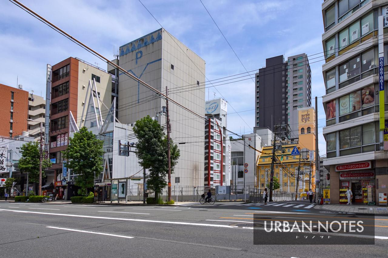 (仮称)近鉄北ビル跡地マンションPJ 新築工事 2021年9月 01