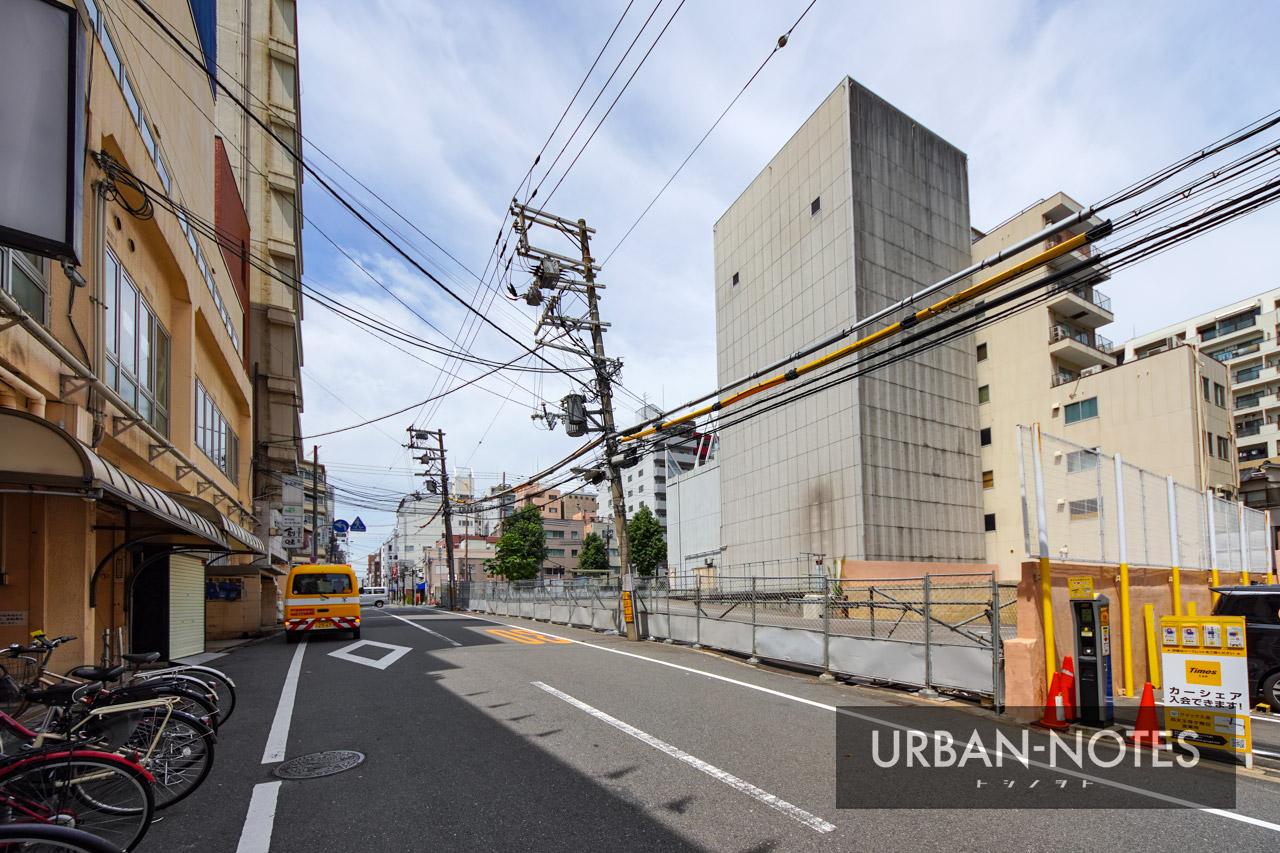 (仮称)近鉄北ビル跡地マンションPJ 新築工事 2021年9月 06