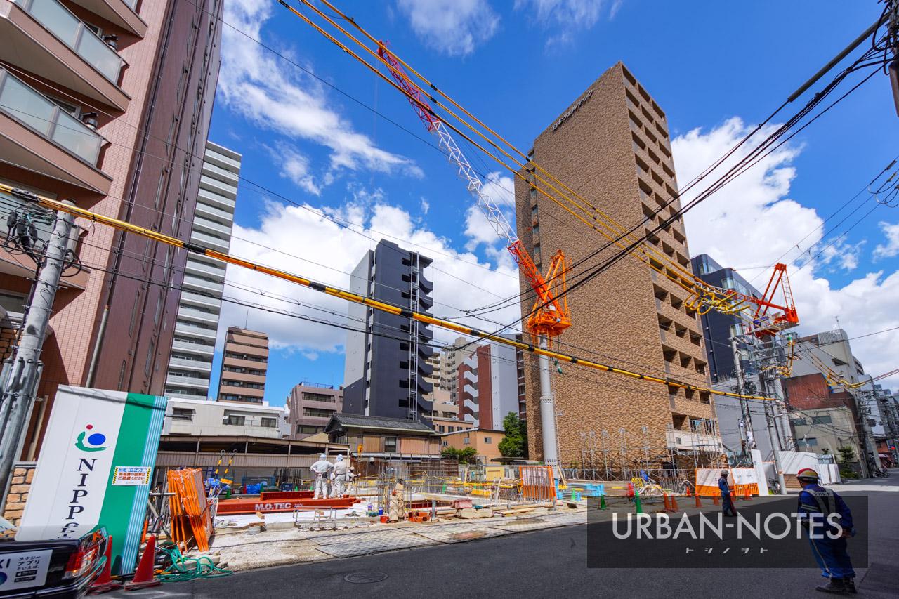 NIPPO 関西支店ビル新築工事 2021年9月 01